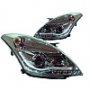 Suzuki Swift ZC72 10+ Projector DRL Look Headlight Set Chrome