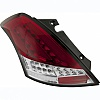 Suzuki Swift 10+ White/Red Lens LED Taillights