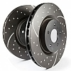 EBC Dimpled And Slotted Sport Discs (FRONT) Suzuki Swift Sport ZC31