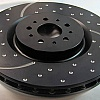 EBC Dimpled And Slotted Sport Discs (REAR) Suzuki Swift Sport ZC31 Image 1