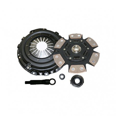 COMPETITION CLUTCH STAGE 4, 6 PAD SPRUNG CERAMIC 1ZZ 2ZZ Image 1