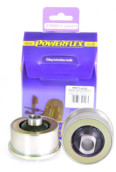 Powerflex Front Arm Rear Bush Caster Adjustable Suzuki Swift ZC32 Image 1