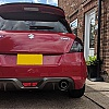 CTC Performance Swift Sport Add On Lip Spoiler Extension ZC32S 2012-2016 Image 1