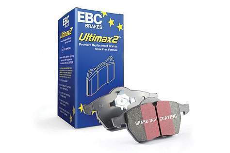 EBC Ultimax OE Replacement Brake Pad Set To Fit Front Suzuki Vitara 2016+ Image 1