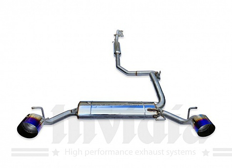 Invidia Cat Back Exhaust System Suzuki Swift Sport ZC33S K14C 2018+ Image 1