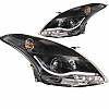 Suzuki Swift ZC72 10+ Projector DRL Look Headlight Set Black